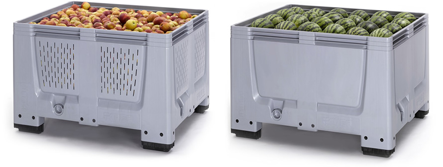 Татарстан: «Ай-Пласт» расширил ассортимент крупногабаритных пластиковых контейнеров для фруктов и овощей